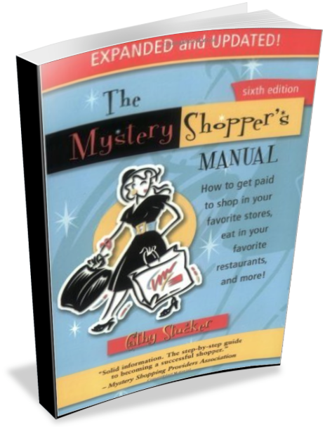 The Mystery Shopper's Manual ... FREE SHIPPING