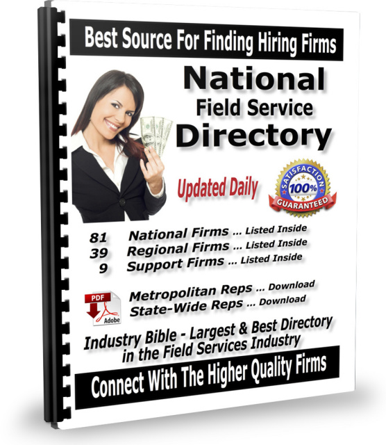 National Field Service Directory (Printed Book with Downloads) - INDUSTRY BIBLE)